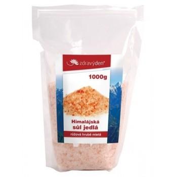 Sůl himalájská jedlá růžová...