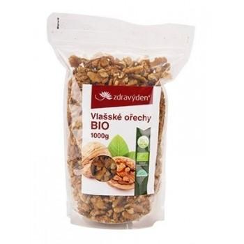 Vlašské ořechy BIO 1000g