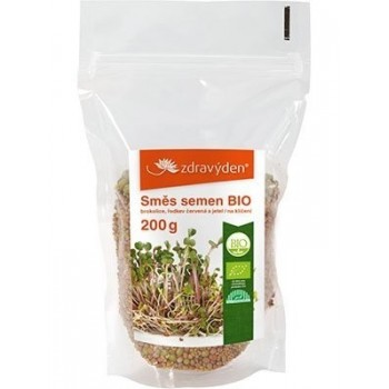 Směs semen BIO brokolice,...