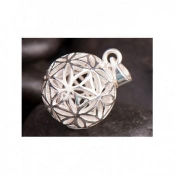 Kulička Květ Života stříbrná