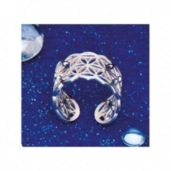 Prsten Květ Života stříbrný...