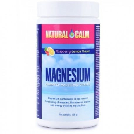 Magnesium Calm 150g malina/citrón
