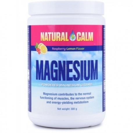 Magnesium Calm 300g malina/citrón