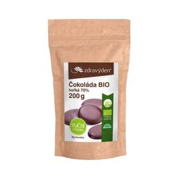 Čokoláda hořká BIO 70% 200g
