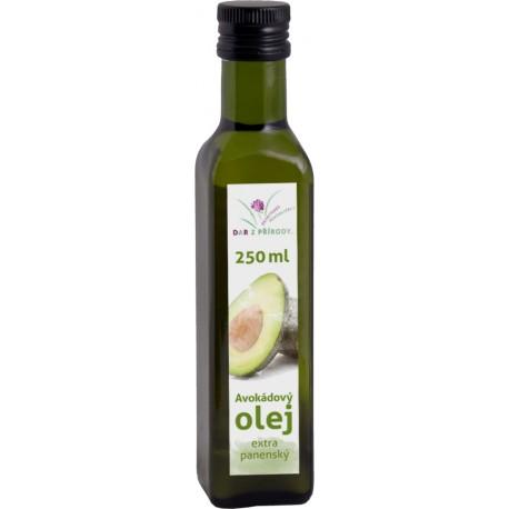 RAW AVOKÁDOVÝ panenský olej 250 ml