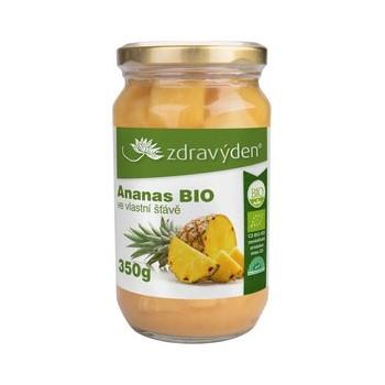 Ananas BIO ve vlastní šťávě...