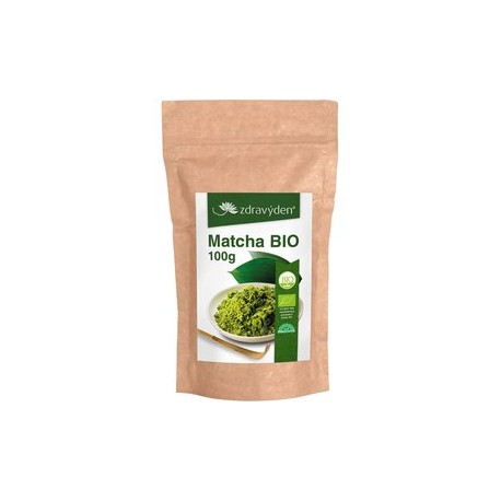 Matcha - práškový zelený čaj 100g BIO