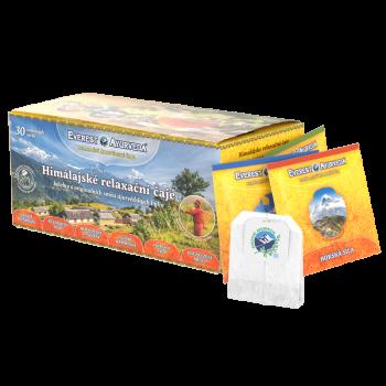 Relaxační bylinné čaje v...